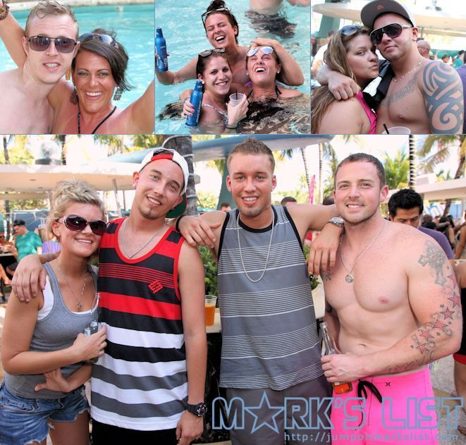 The 2013 Miami Beach Pride Held A Pool Party At Clevelander Hotel On