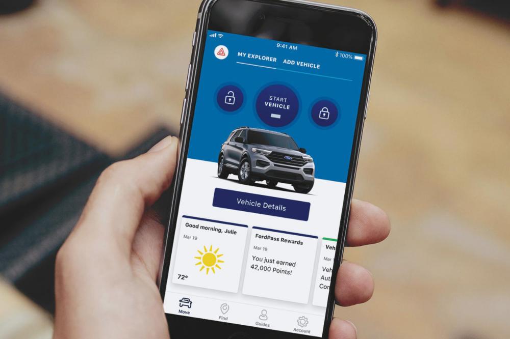 Fordpass La Nueva Aplicacion De Ford Avatar Energia Vehiculo Electrico Automovil Electrico Punto De Recarga