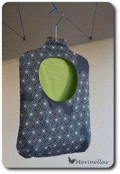 Wäscheklammerkleid, Wäscheklammersack, Wäscheklammerbeutel, Tasche für Wäscheklammern nähen