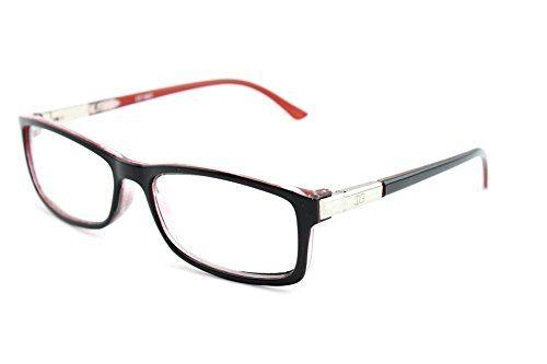 b771216b6c Newbee Fashion Chris Unisex Squared Spring Hinge High Quality Fashion  Celebrity Clear Lens Glasses --