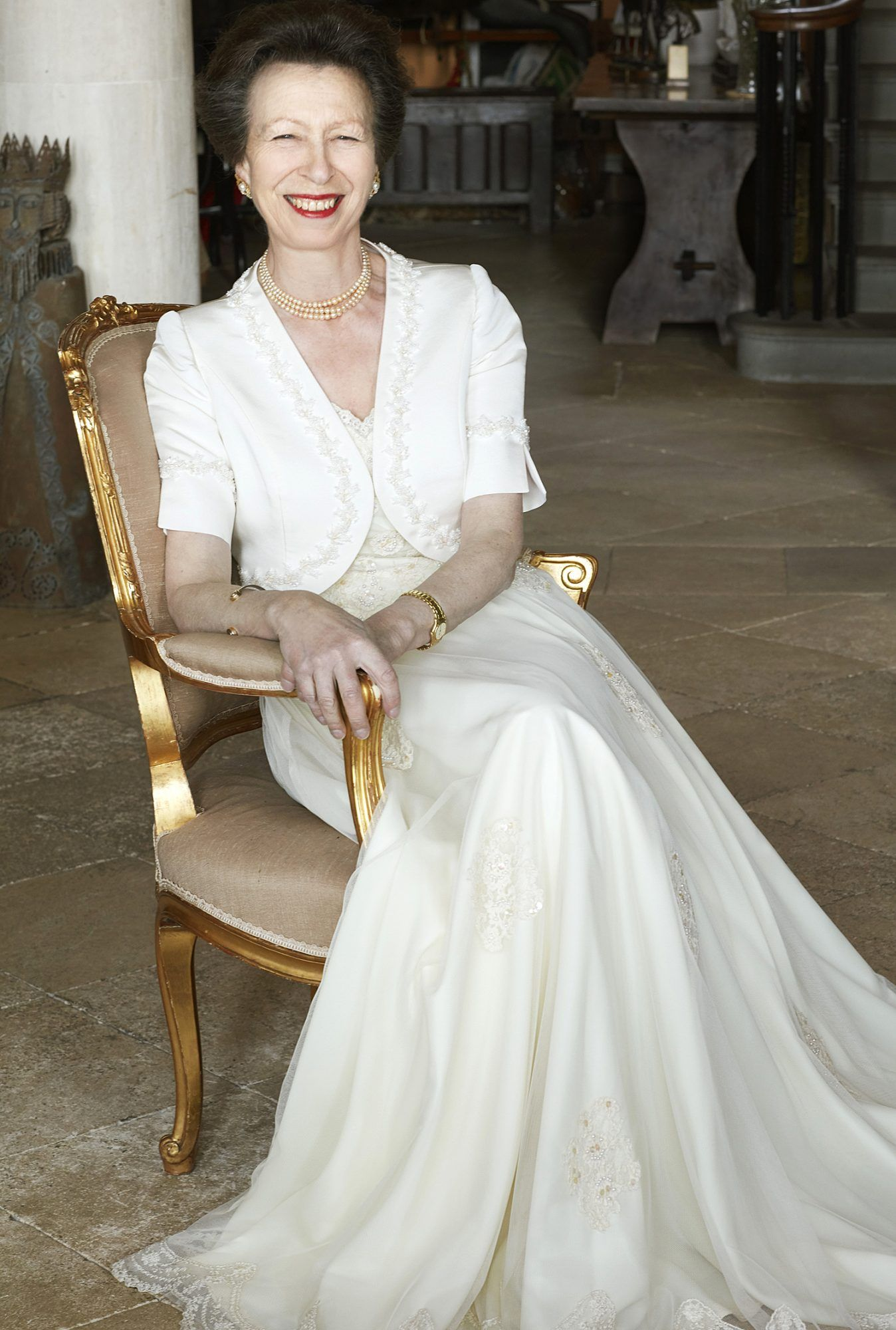 Princess Anne Turns 70! See New Portraits of Queen