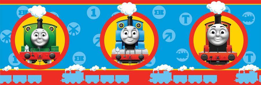 Thomas The Tank Engine No1 Wallpaper Border 7 Inch