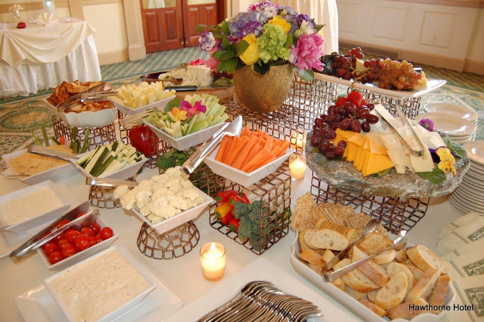 Elegant Wedding Appetizer Ideas: Appetizer Only Wedding Reception