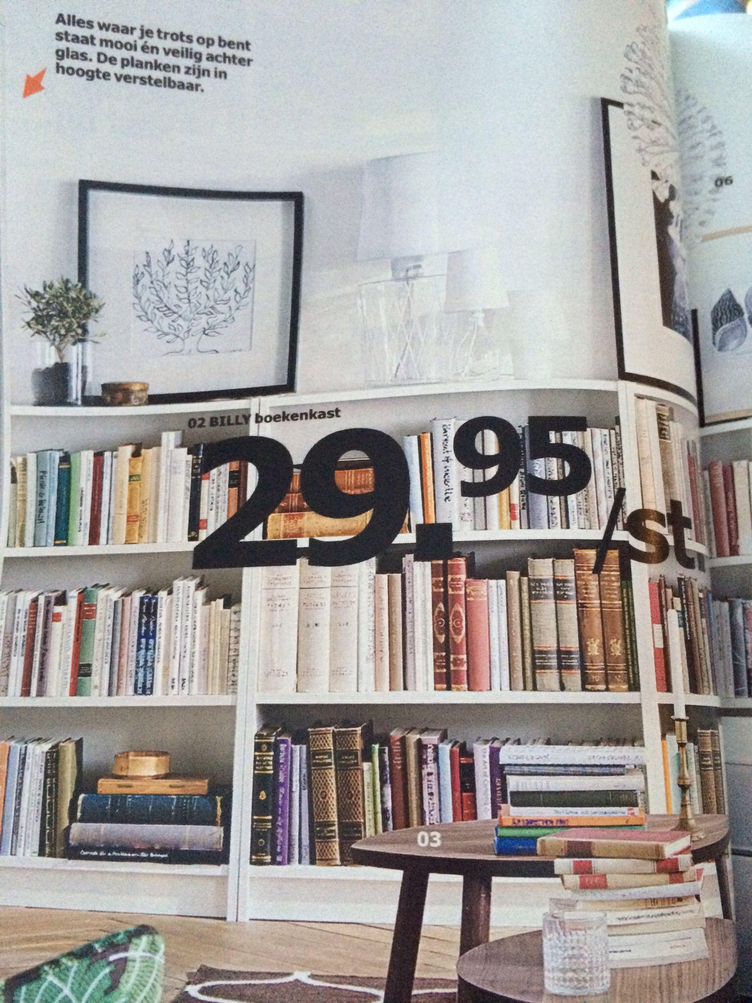 lage boekenkast ikea