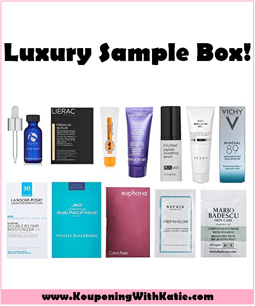 Free Women S Luxury Beauty Skin Care Sample Box With New Promo Credit Skincare Samples Beauty Skin Care Luxury Beauty
