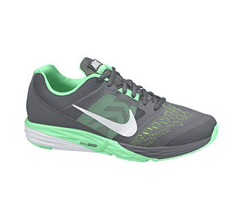6bc5111aaa6 New Nike Womens Tri Fusion Run Running Shoe GreyGreen Glow 10     Find out  more about the great product at the image link.