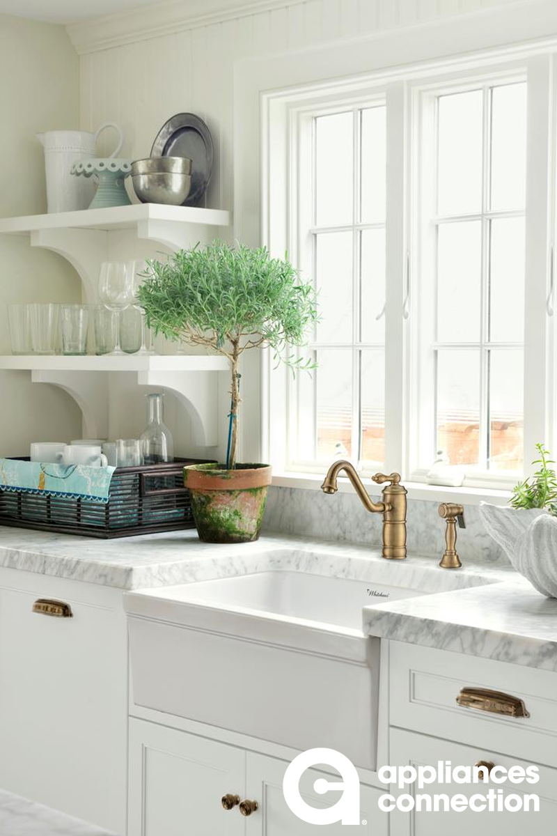 Glencove Collection Whq5530 White Fireclay 30 Reversible Sink With Elegant Beveled Front Apron On Contemporary Kitchen Kitchen Trends Single Bowl Kitchen Sink