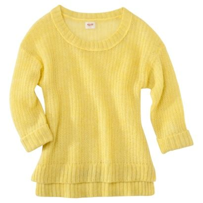 Mossimo Supply Co. Juniors Hi Low Sweater - Assorted Colors