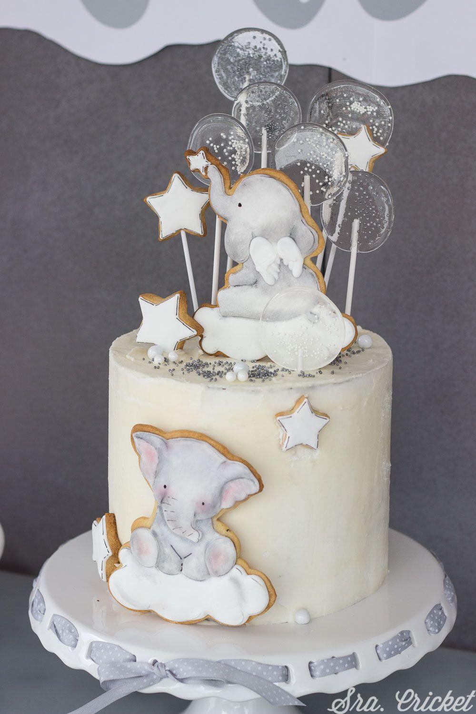 Decoración Para Bautizo De Niño Infantil Pero Elegante Pastel Bautizo Niña Cake Bautizo Niño Pasteles De Bautizo