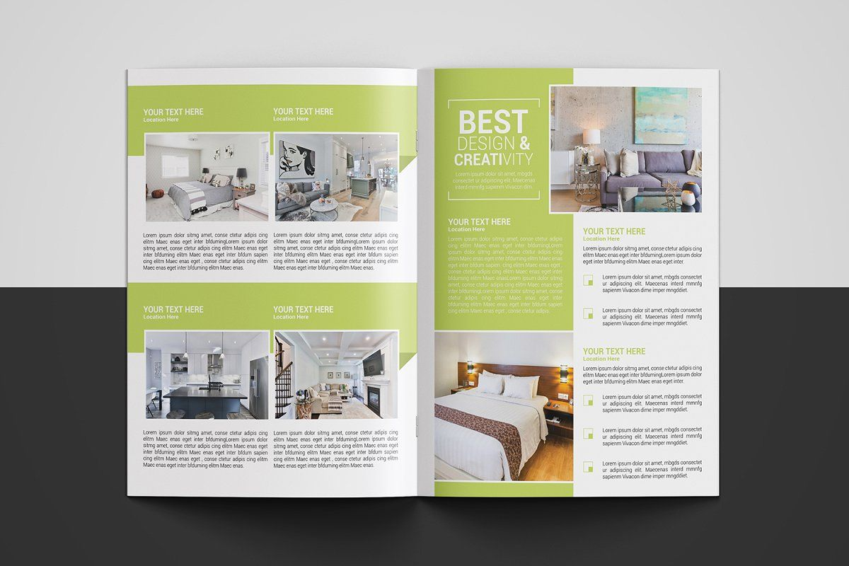 Real Estate Brochure Real Estate Brochures Brochure Creative Brochure 4 page real estate brochure template