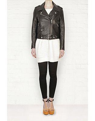 ASOS Fashion Finder | Acne  Mape Black Leather Jacket /