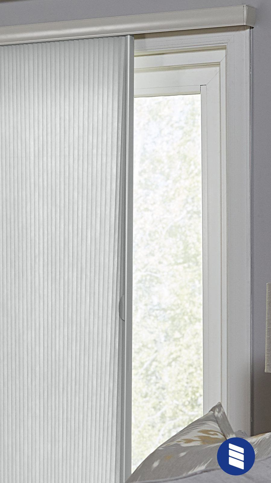 The Best Vertical Blinds Alternatives For Sliding Glass Doors Blinds Com Vertical Blinds Alternative Sliding Glass Door Window Sliding Glass Door Shutters