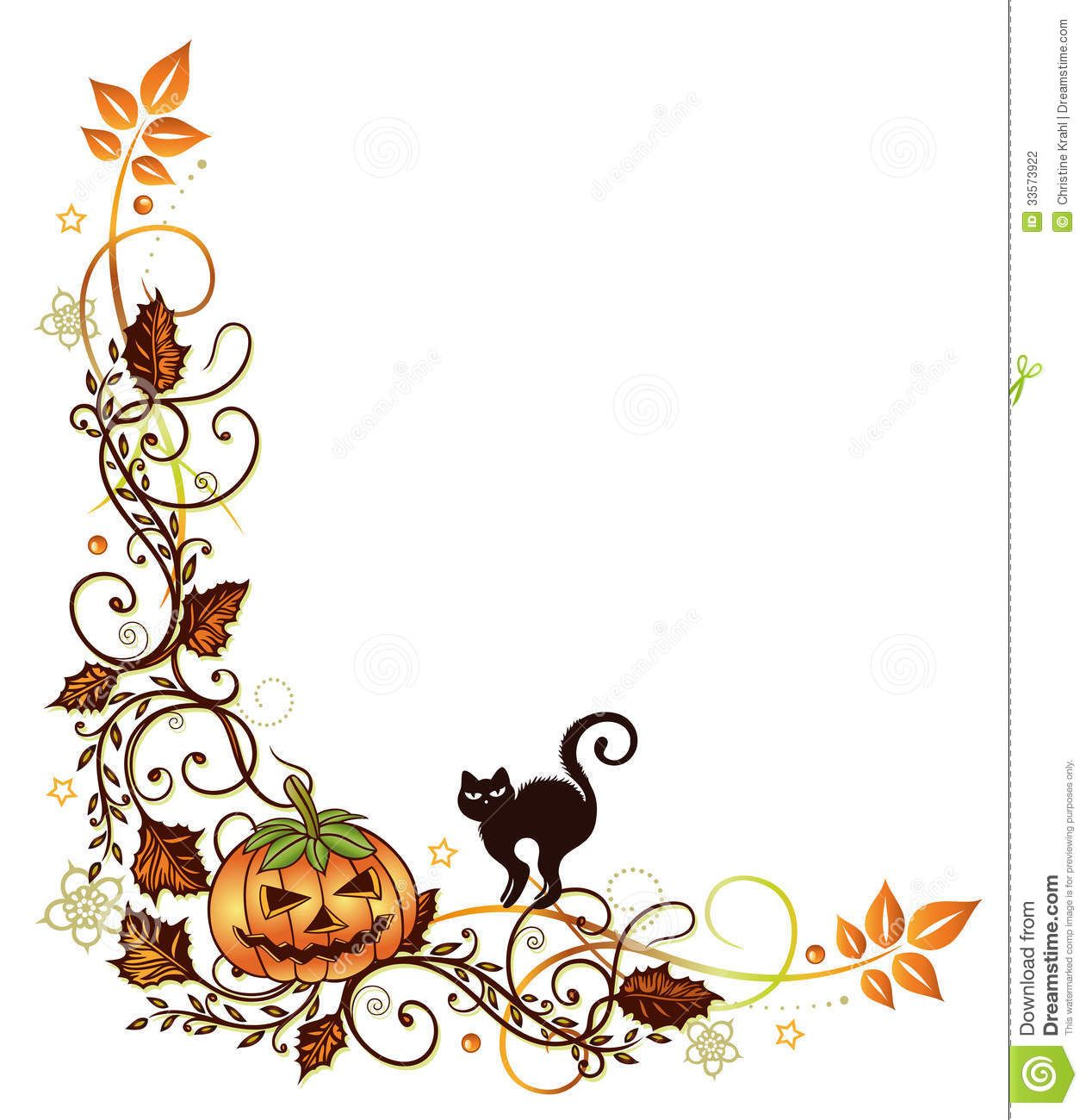 halloween border clipart free large images [ 1261 x 1300 Pixel ]