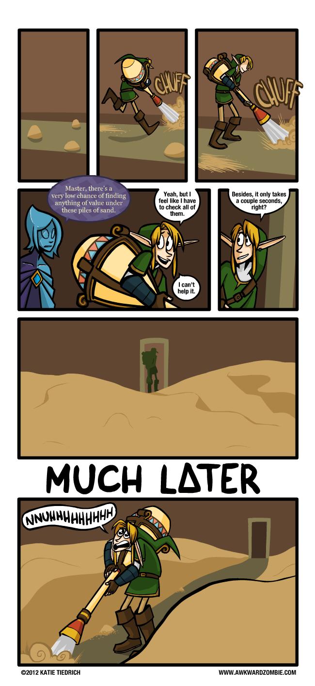 Awkward Zombie Clean Sweep I Didn T Do This Really I Didn T Awkward Zombie Zelda Funny Legend Of Zelda Memes