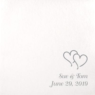 Custom Printed Disposable Linen Like Luncheon Napkins