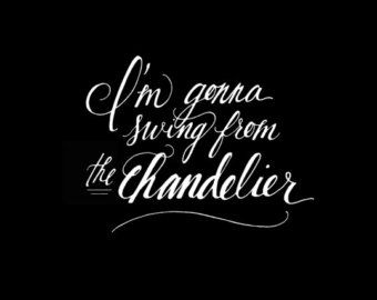 Sia, Chandelier. | ѕιa | Pinterest | Chandeliers and Songs