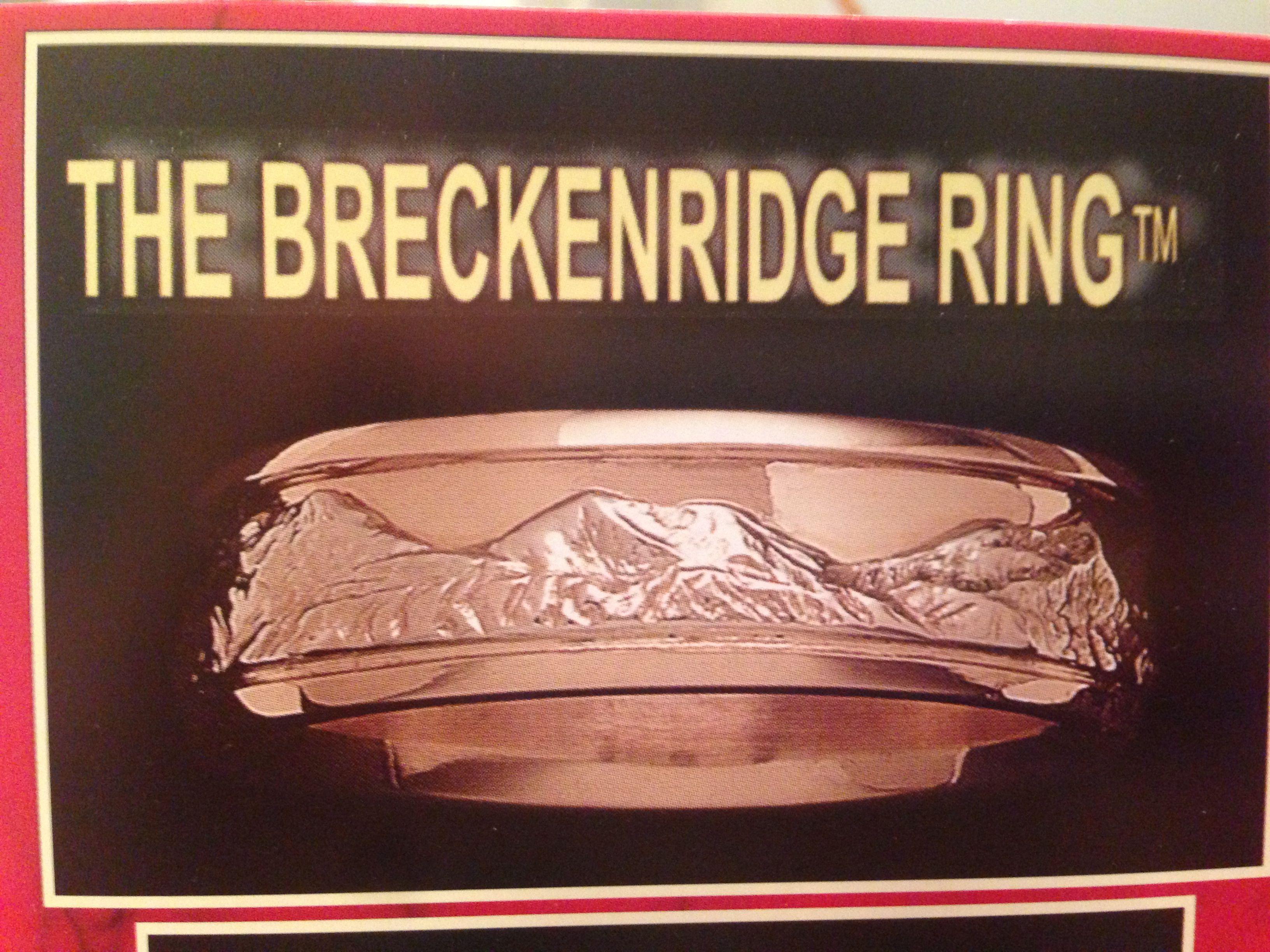 Mountain ring for my future mountain man