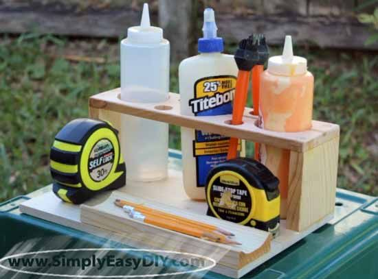 Diy glue caddy a small project to practice a few new skills diy glue caddy a small project to practice a few new skills solutioingenieria Choice Image