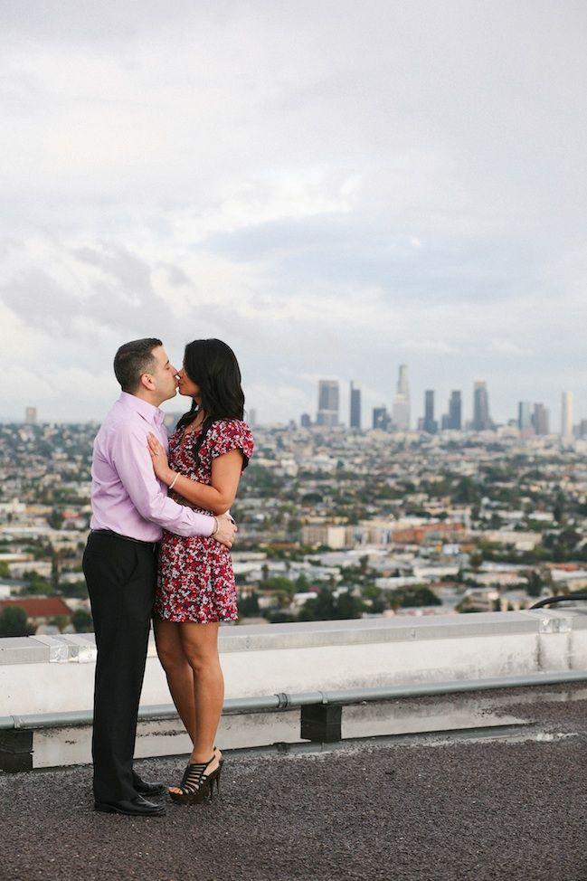 LA rooftop engagement :)