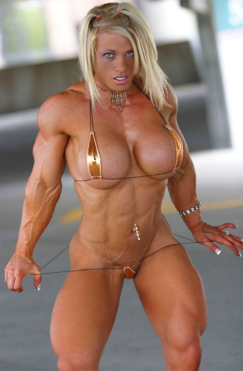 Cute naked muscle girls