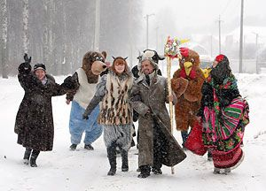 pictures of Christmas tsars in Belarus