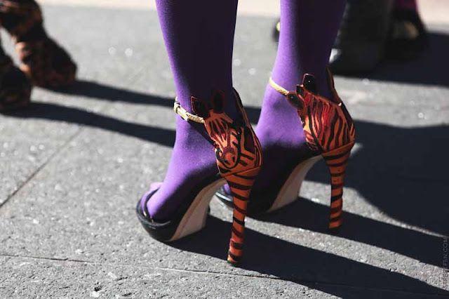 purple tights.smart!