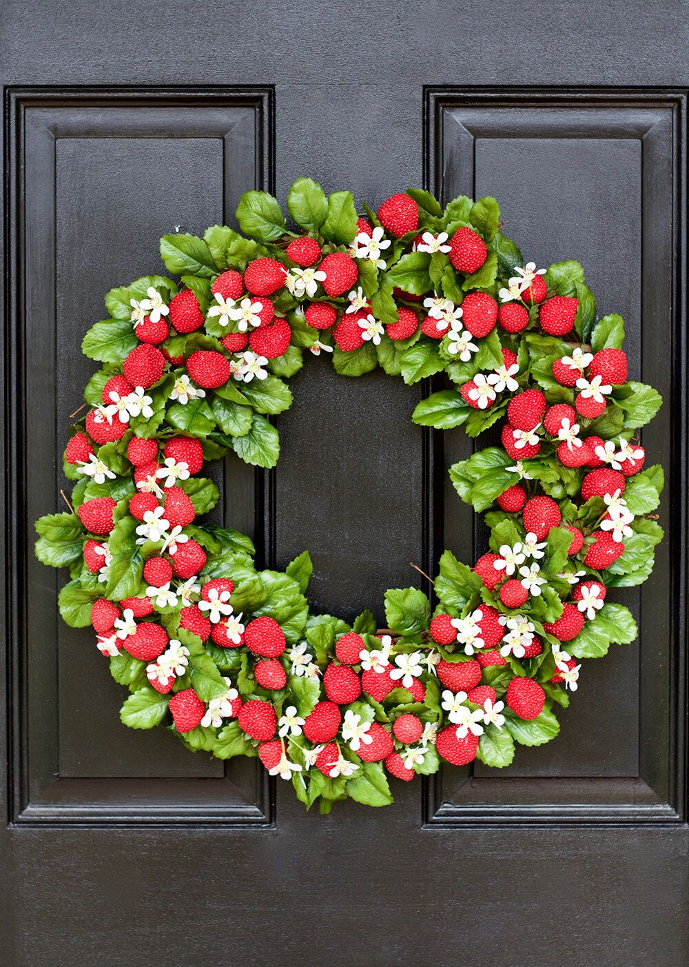 33 Lovely Summer Wreath Ideas To Bring Sunshine To Your Door