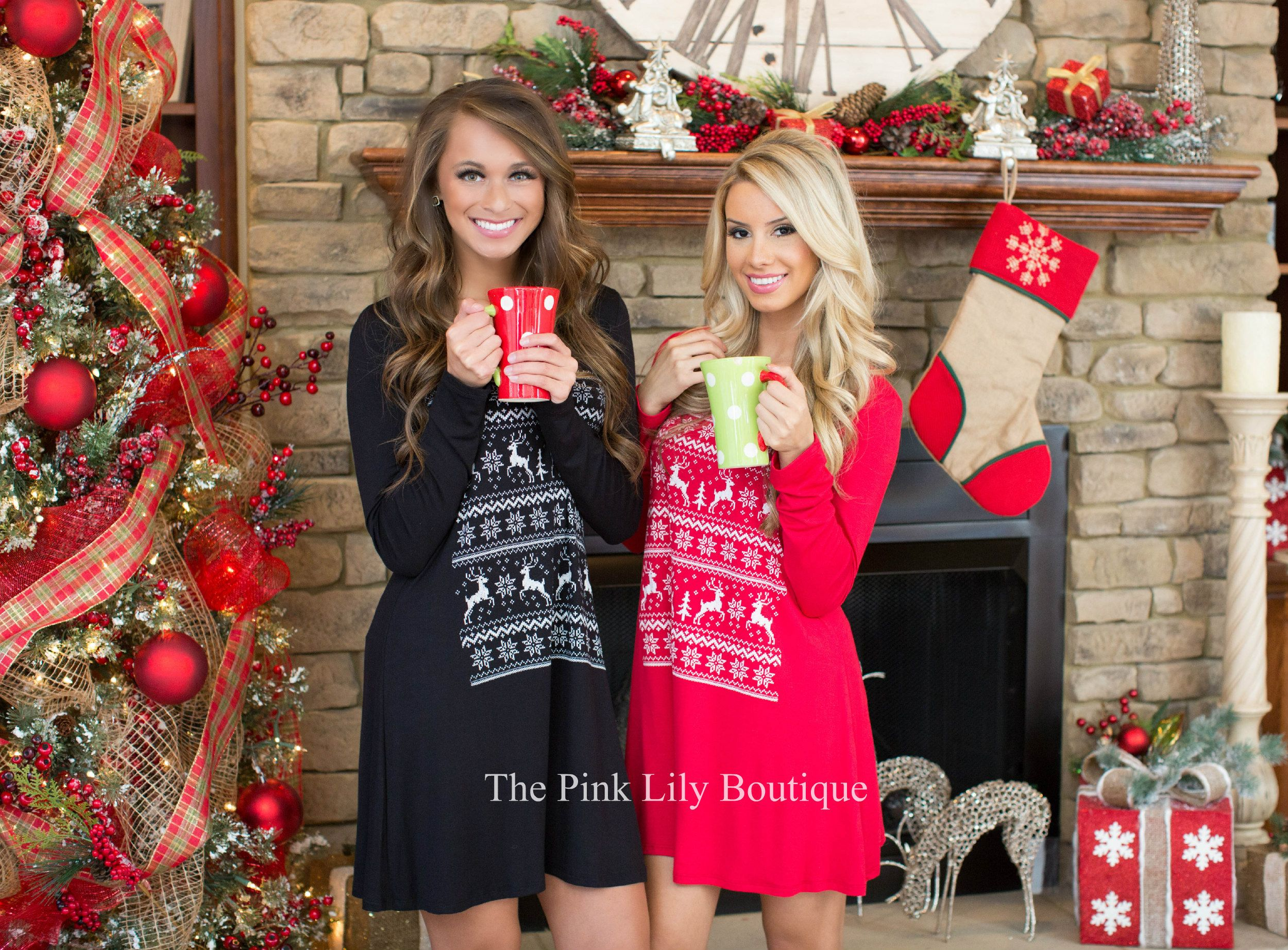 apply Laurenhrep for a 10% discount at checkout! Shop the link at thepinklilyboutique.com  #pinklilyrep   These Reindeer tunic are too cute for words!!