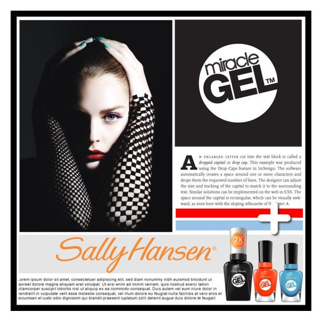 """No Light Gel: Show Us Your Tribal Vibe in 2 Steps with Sally Hansen® Miracle Gel™: Contest Entry"" by ewa-naukowicz-wojcik ❤ liked on Polyvore featuring beauty and Sally Hansen"