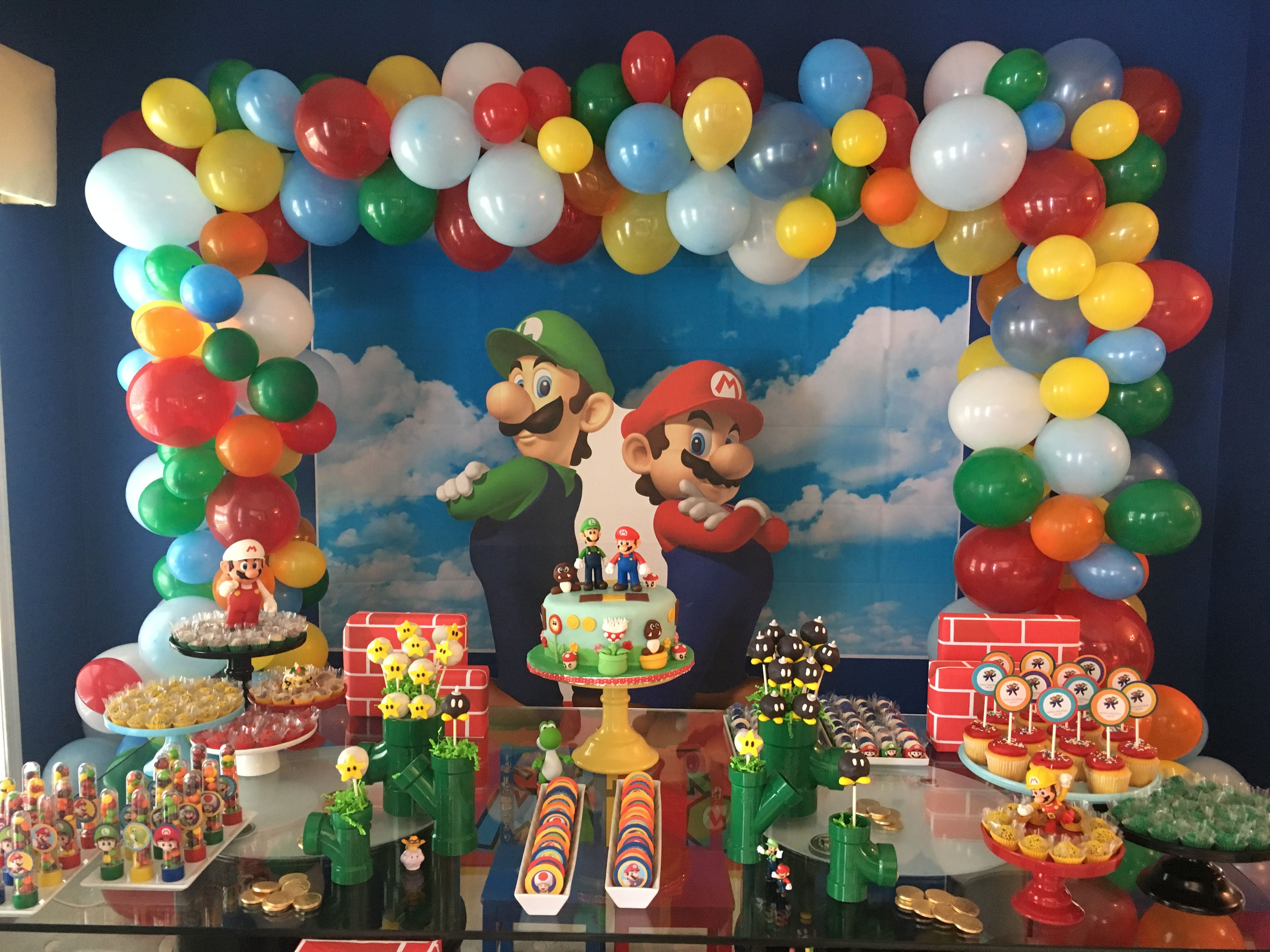 Mario and Luigi Birthday
