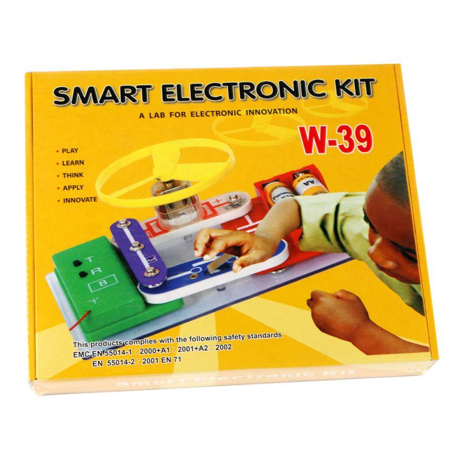Smart Electronic Snap Circuits Kit Building Blocksa Lab Kits For Kids Innovation Learning Assembling Toys Set