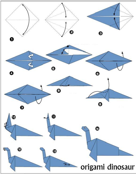 origami dinosaur diagrams cards pinterest origami origami dinosaur diagrams dinosaur origami diagrams pdf