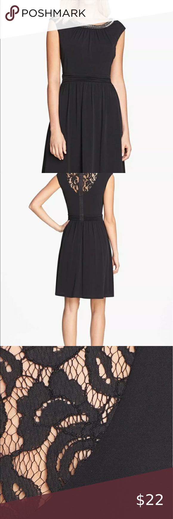 Ellen Tracy Black Gown