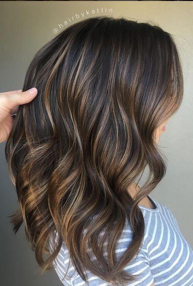 34 Amazing Looks pour les cheveux brun Balayage est pour