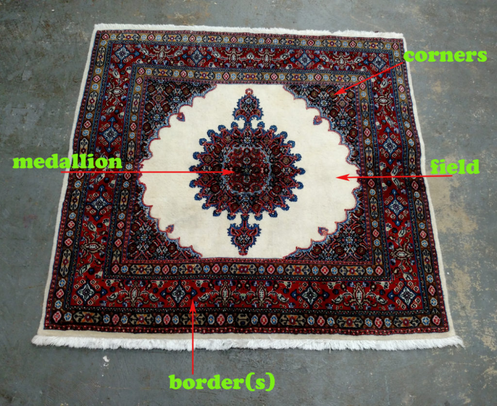 Rugs 101 Parts Of A Rug Part I Jahann Sons In 2020 Rugs Floral Carpet Colorful Rugs