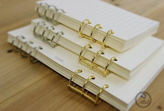 Binder Ring Qty 1 Diy Planner Ring Planner Ring A5 Binder Ring A6 Binder Ring Total Of 3 Rings Binder Diy A5 Binder Diy Planner