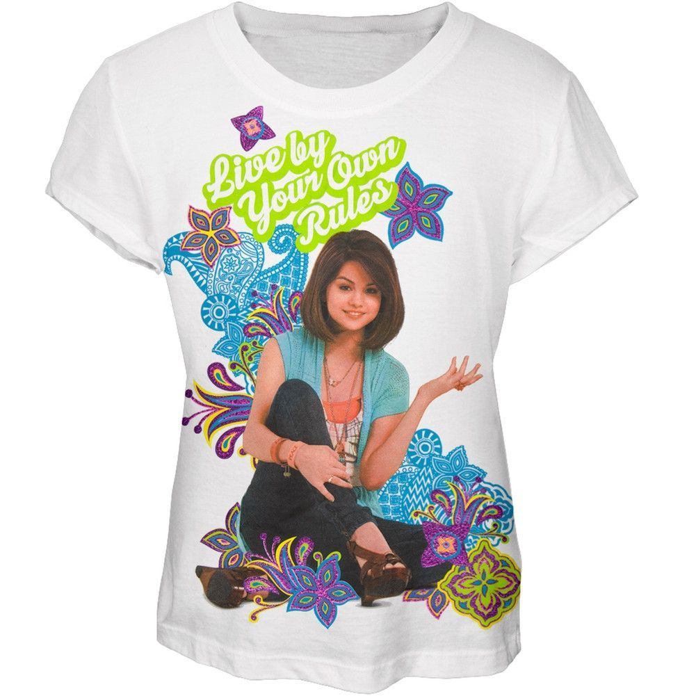 Wizards Of Waverly Place Your Own Rules Girls Youth T-Shirt
