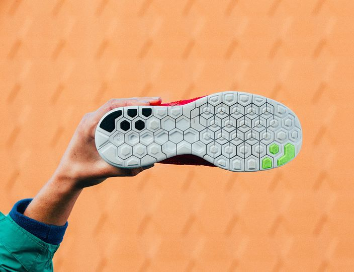 326959d0b38b Unlimited ways to run. The hexagonal flex grooves in the new  Nike  Free  outsole let your foot move freely in all directions.  nikefree
