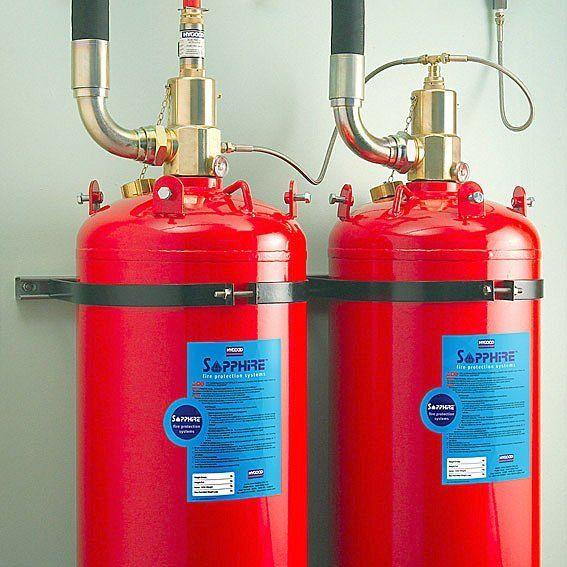 انظمه الإطفاء Fire Protection System نظام الإطفاء التلقائي بالغازات Gases Fire Fighting الإطفاء بغاز أف Fire Extinguisher Fire Suppression Recycling Facility