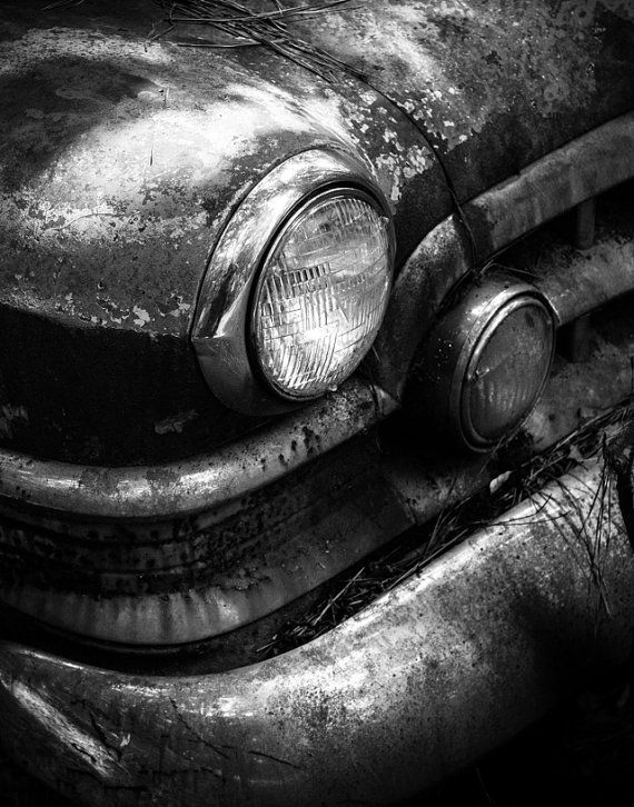 Abandoned Car Print Old Automobile Fine Art By Judithkimberphoto Dark Photography Gifts