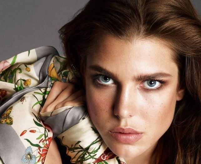 Carlota Casiraghi, rostro de la nueva línea de cosméticos de Gucci