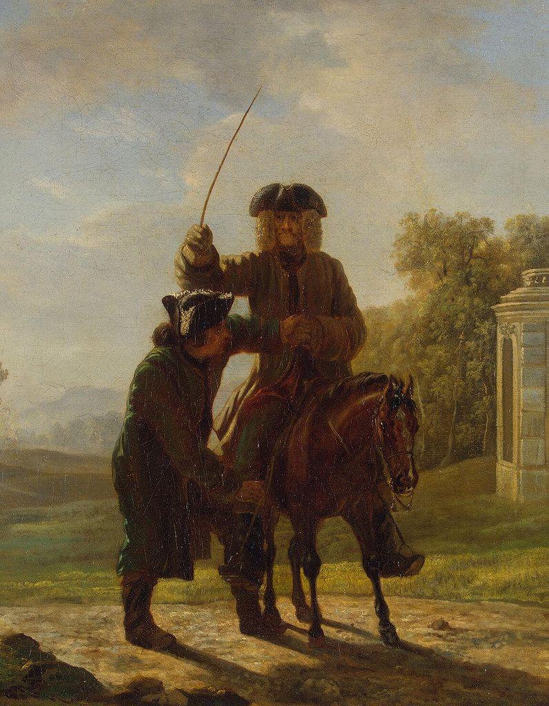 https://flic.kr/p/rFHpD2   Huber Jean - Voltaire Riding a Horse - GJ-6722