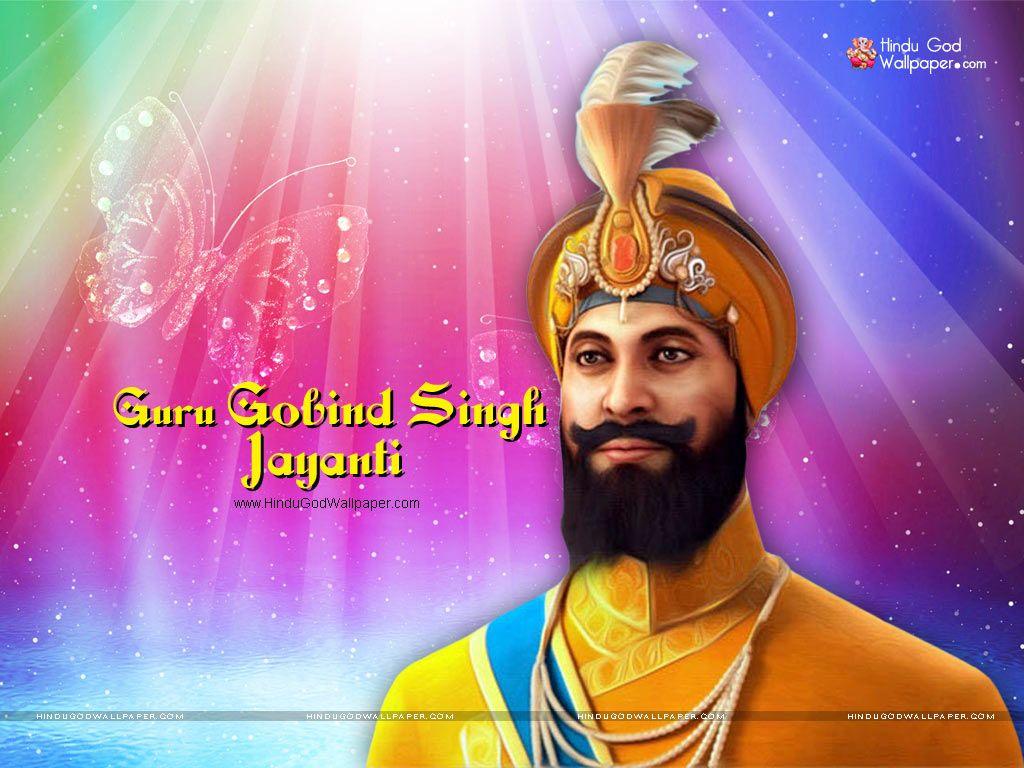 guru gobind singh jayanti wallpaper | Guru Gobind Singh ...