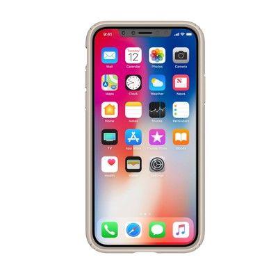 Speck iPhone X Case Presidio - Metallic Nude Gold #Case