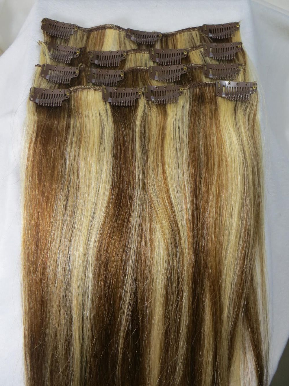 Wholesale 28 Womens Remy Human Hair Straight Clip In Extensions