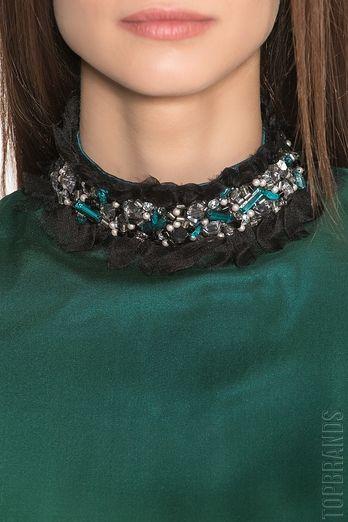Платье из шелка с поясом Aset 176992 за 55000 руб. Интернет магазин брендовой одежды премиум-класса онлайн бутик - Topbrands.ru