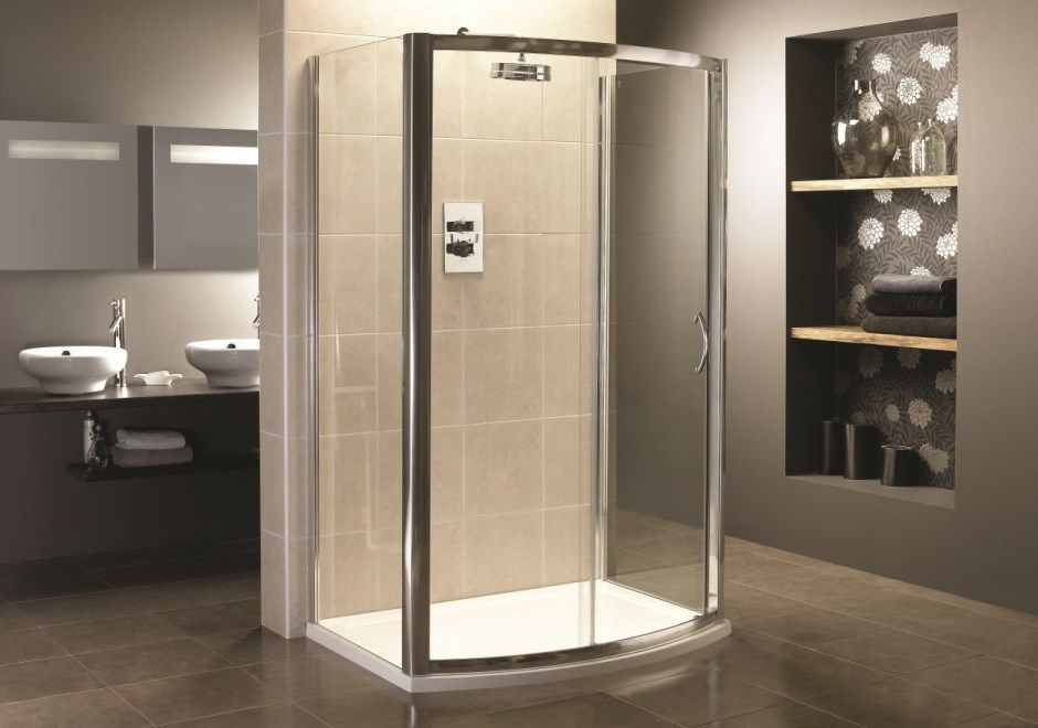 Shower Enclosures | ... Bow Fronted Three Sided Shower Enclosure ...