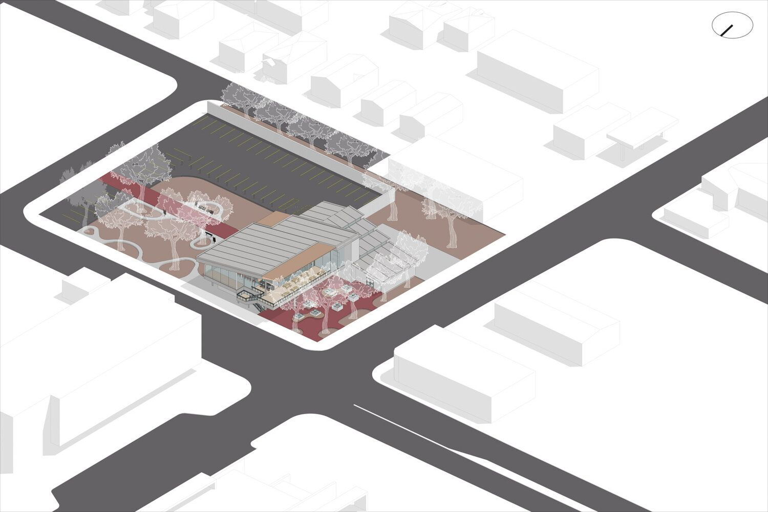 Isometric Building Site Drawing in 2020 | Architecture ...