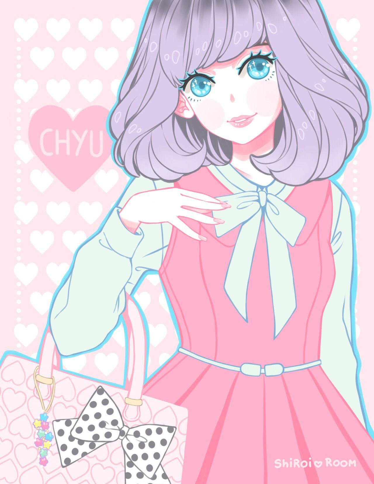 anime kawaii pastel: Pin By Falyn On Cute (≧∇≦)