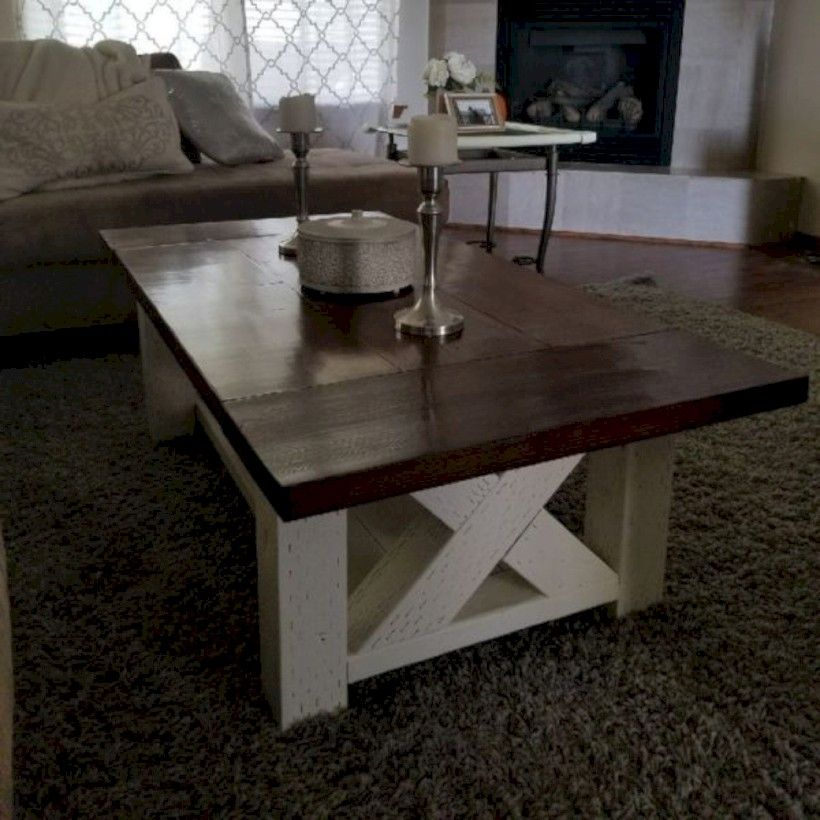 33 Best Chunky Farmhouse Coffee Table For the Home